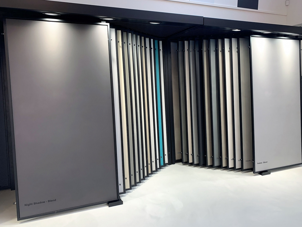 PU gulve - store prøver af vores designs i New Yorker look